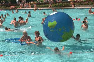 Schwimmbad in Neckargemünd