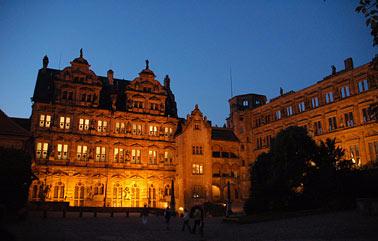 Der Innenhof des Heidelberger Schlosses
